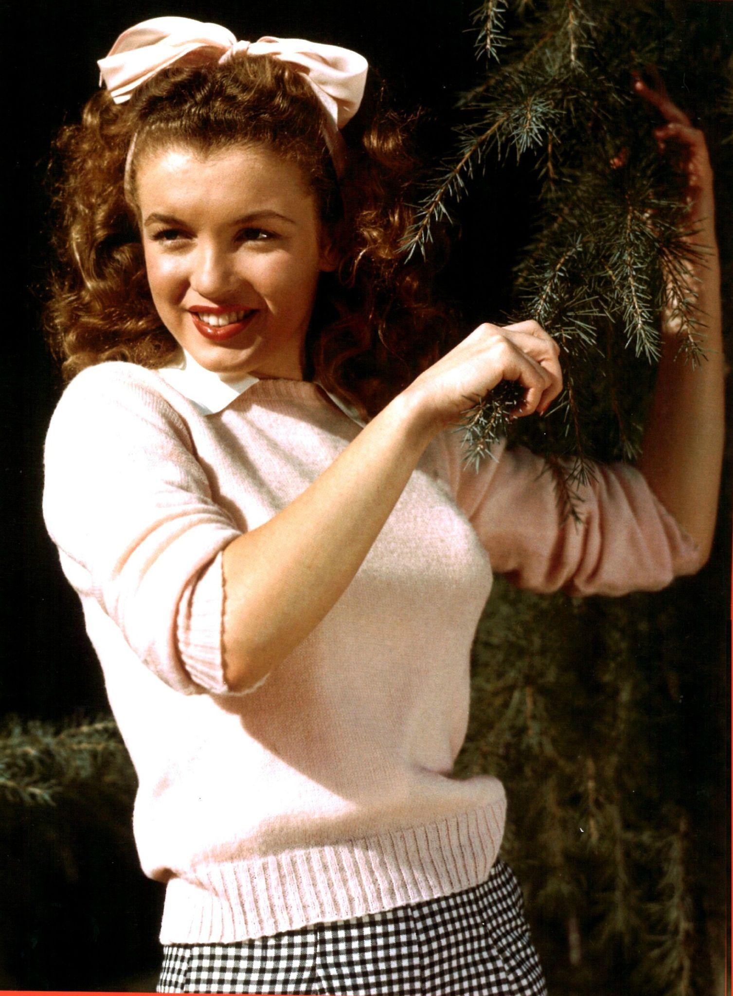 8 Marilyn Monroe en 1945