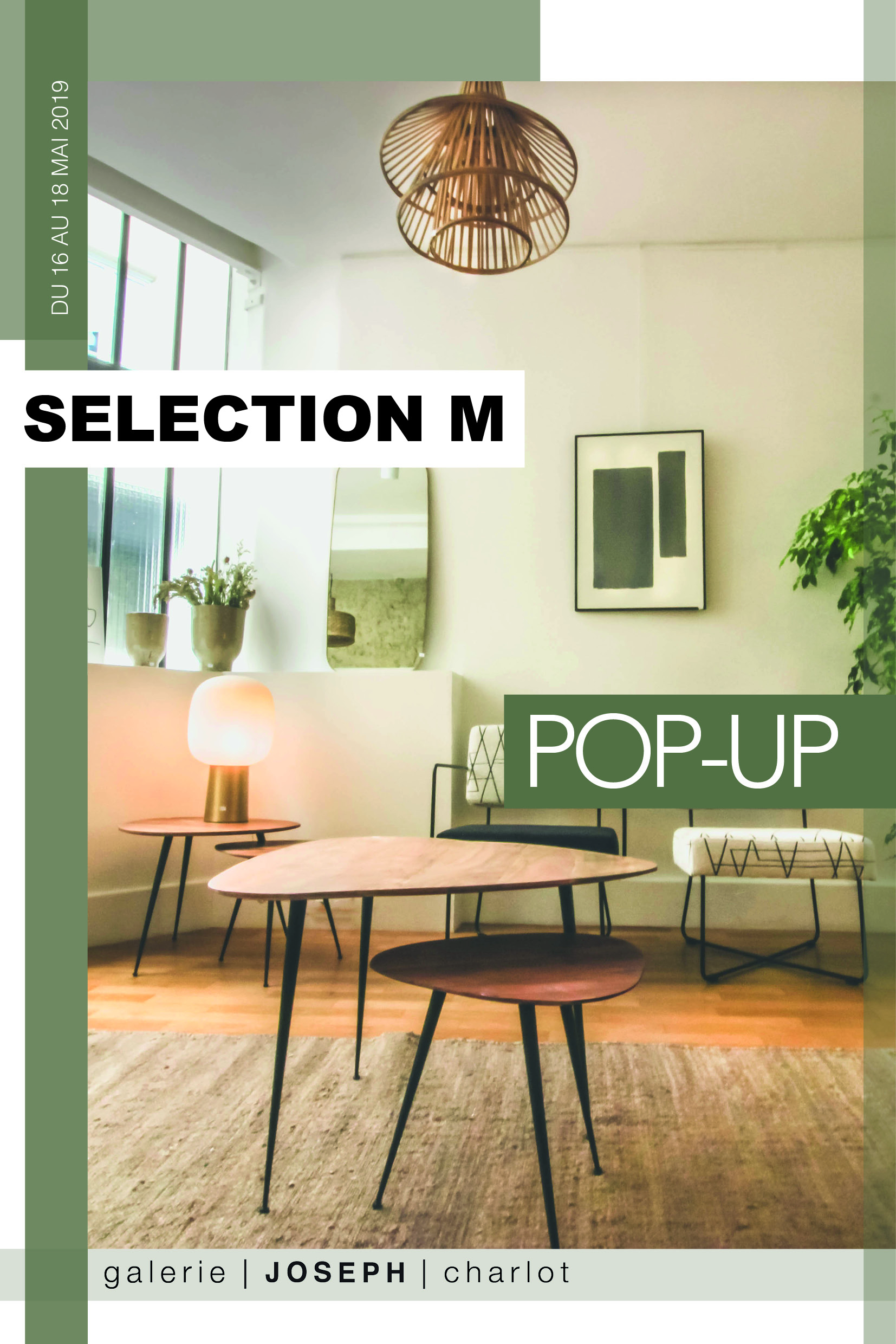 POP UP STORE DÉCO – SÉLÉCTION M
