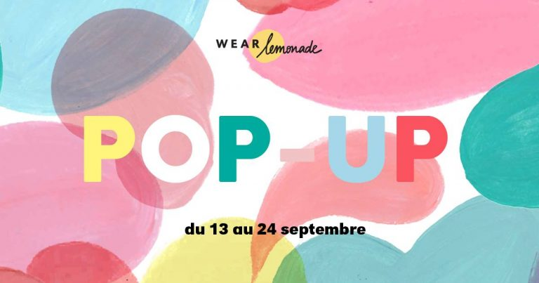 POP-UP WEAR LEMONADE X MONOPRIX