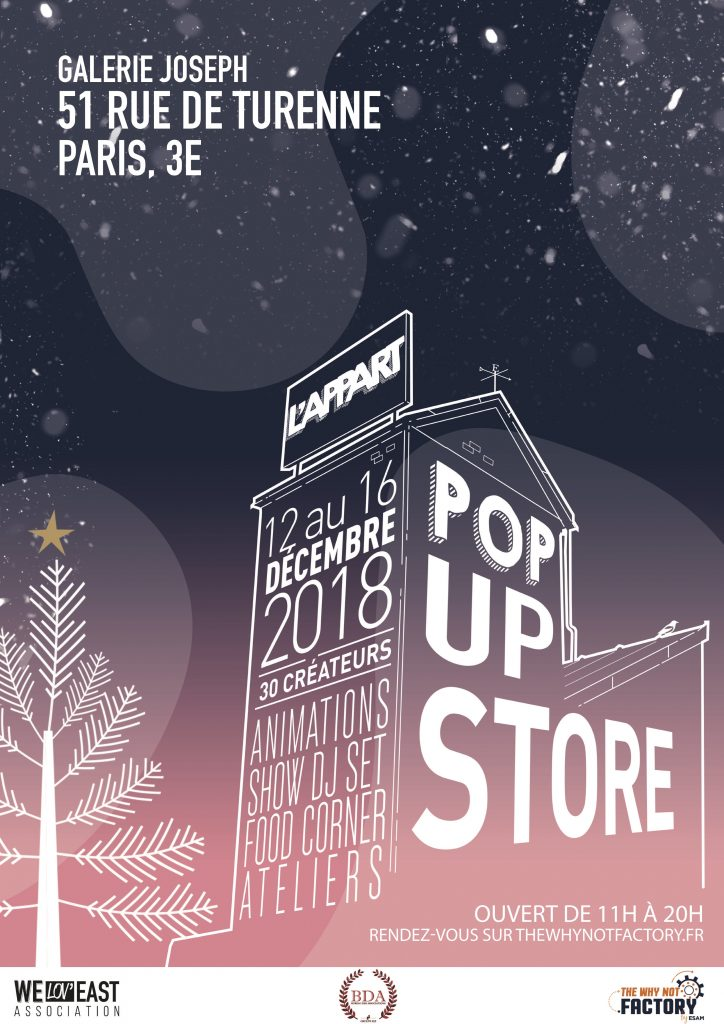 L'APPART POP UP STORE