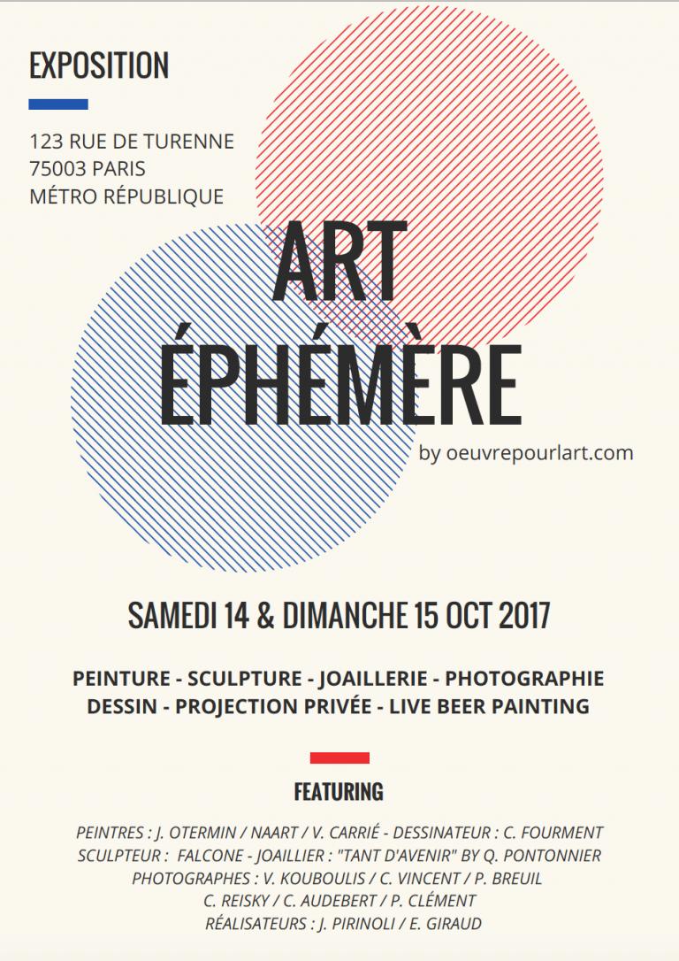 Exposition ART ÉPHÉMÈRE