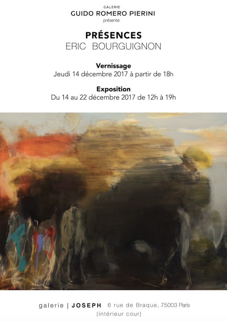 EXPOSITION PRÉSENCES ERIC BOURGUIGNON