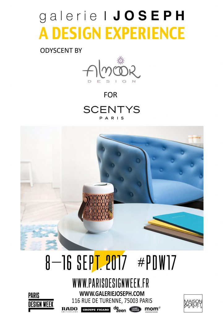 Odyscent by Alnoor Design for Scentys