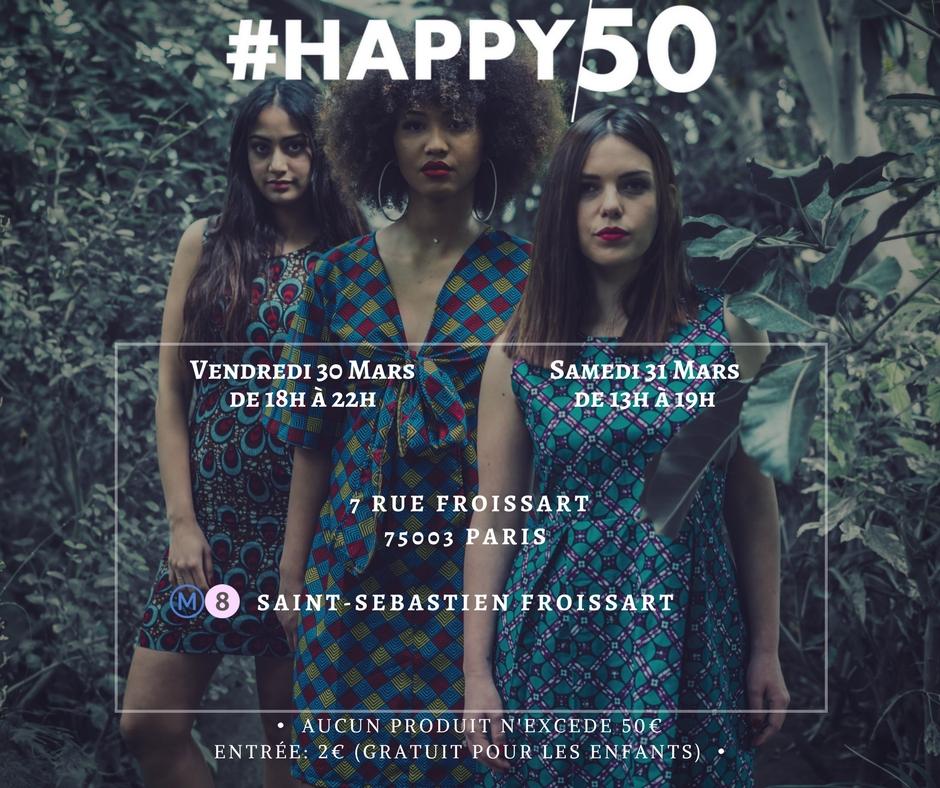 #HAPPY50