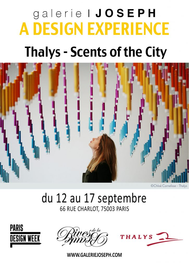 Scents of the City Thalys 2017