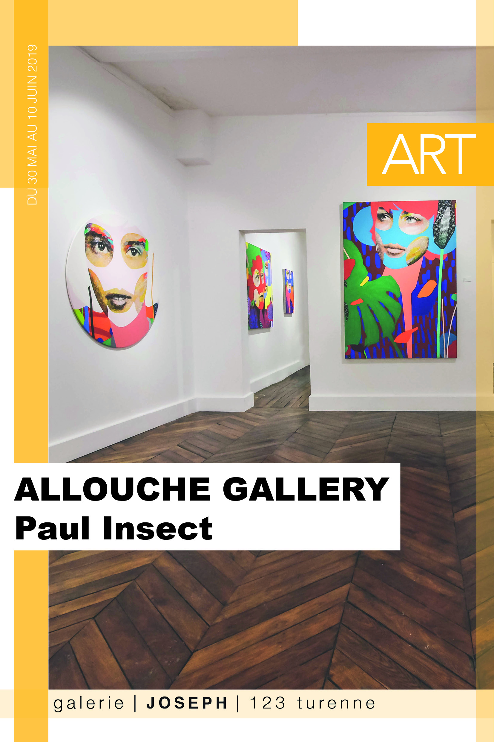 Allouche Gallery Paul Insect