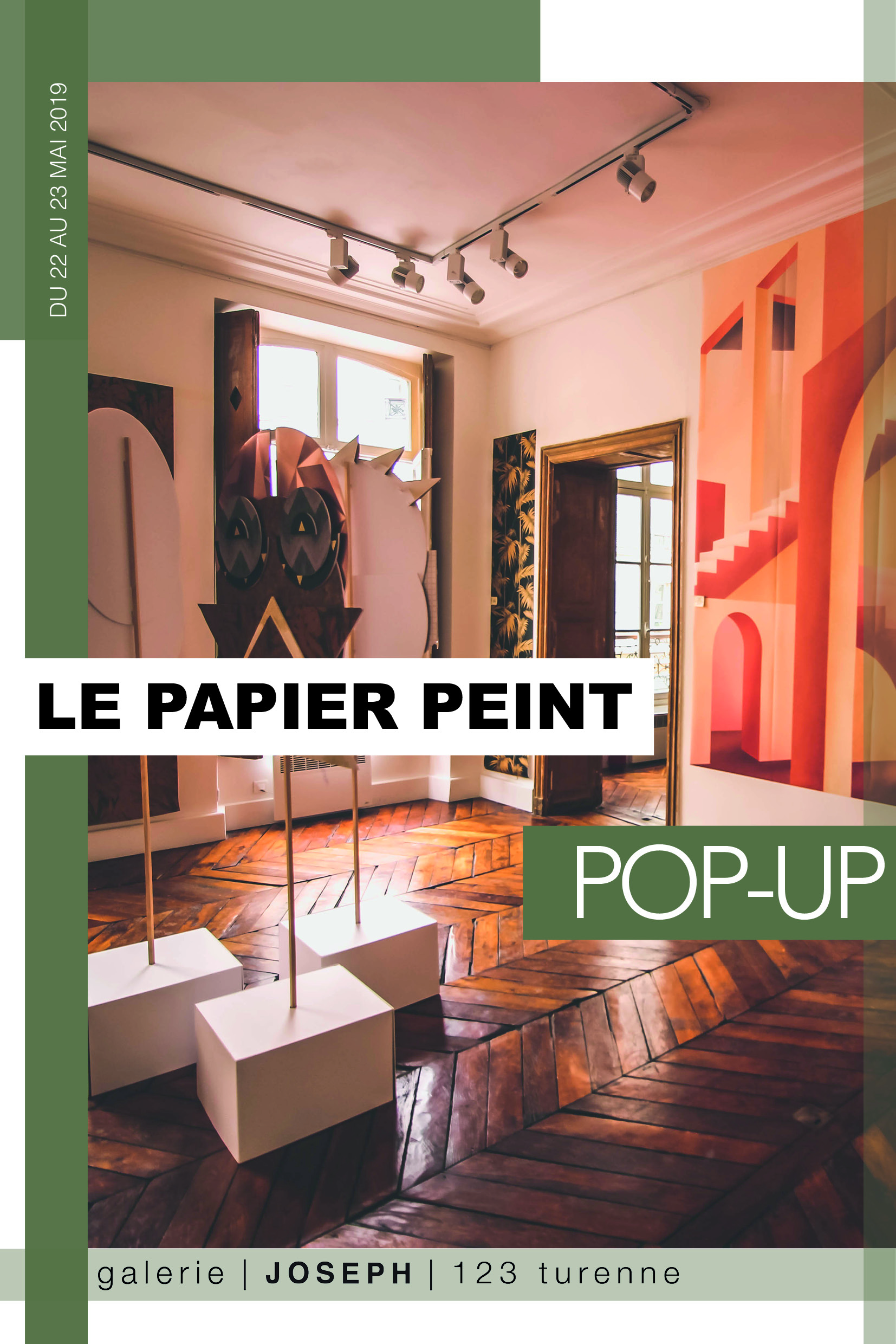 Pop Up Le Papier Peint