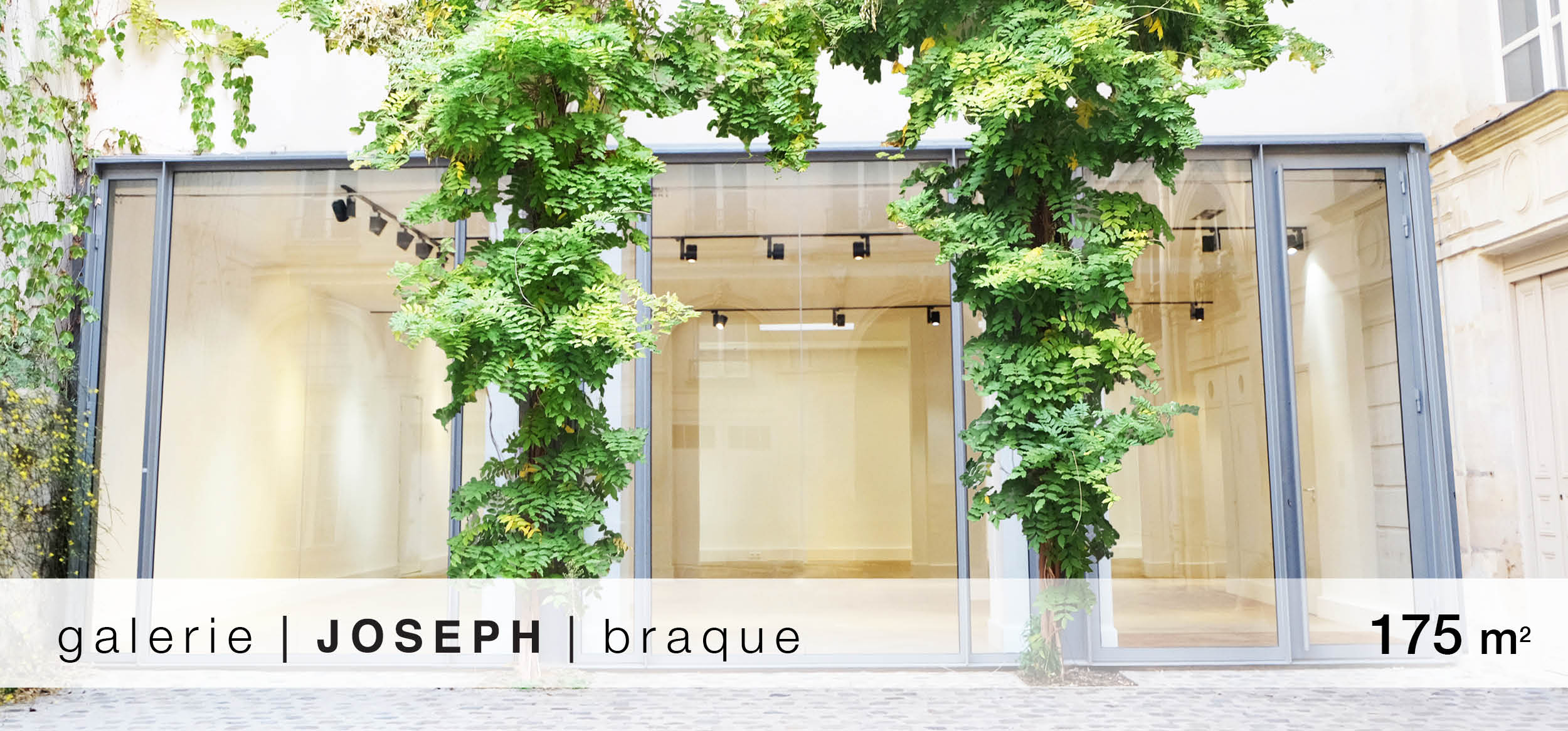 Galerie Joseph Braque location showroom Braque
