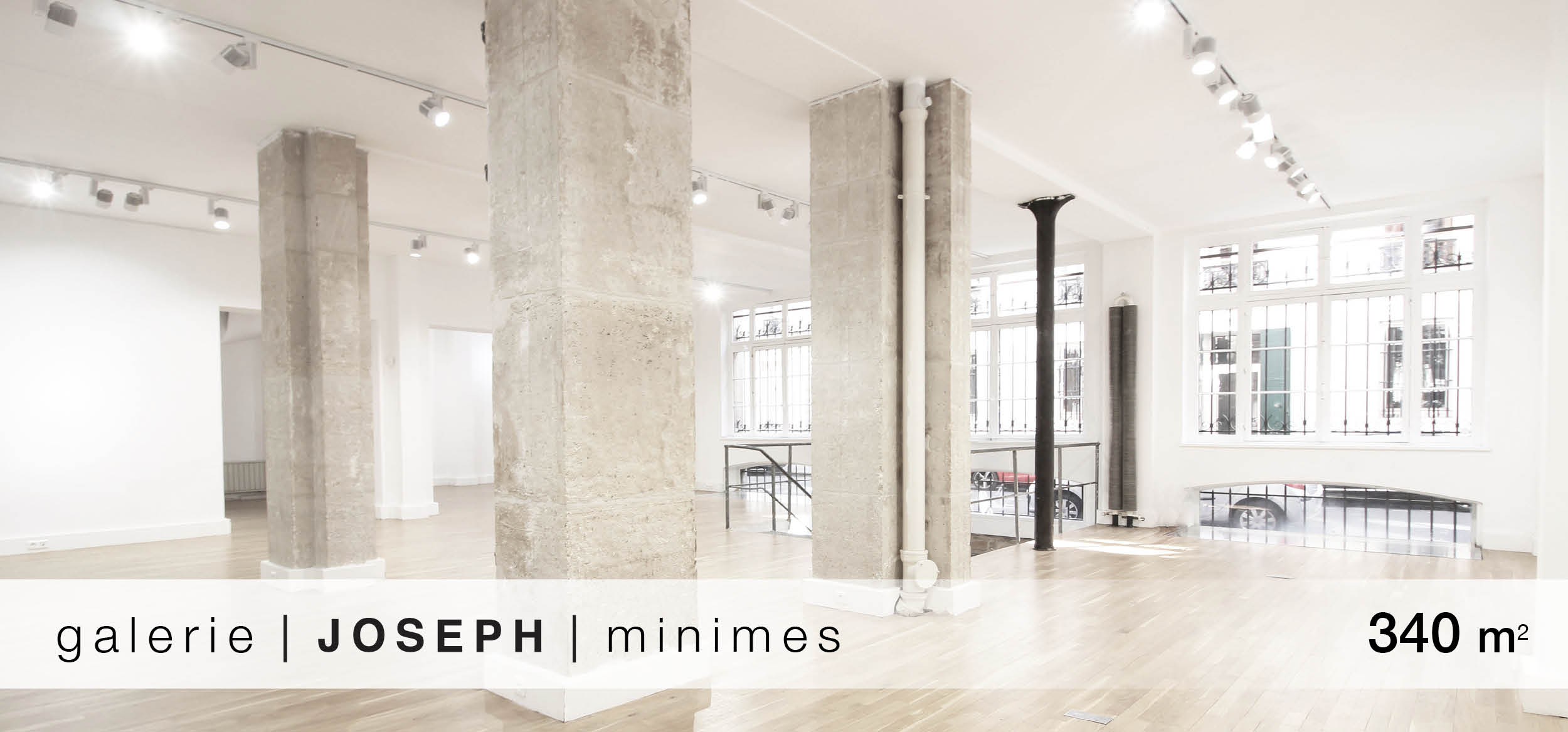 Galerie Joseph Minimes location showroom Minimes
