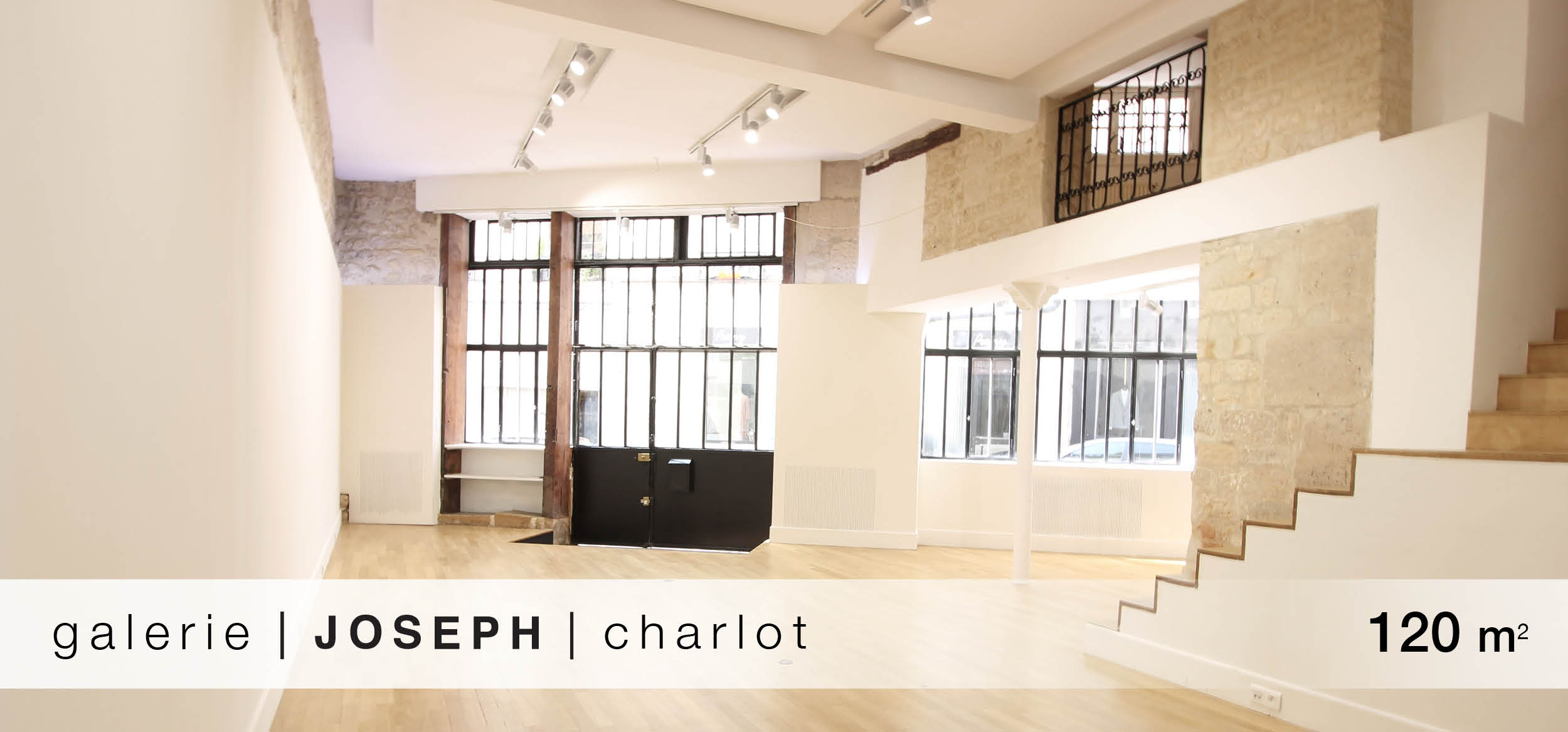 Galerie Joseph Charlot location showroom Charlot