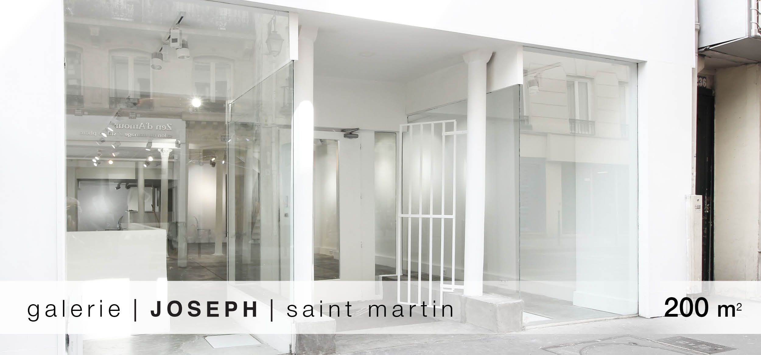 Galerie Joseph Saint Martin location showroom Saint Martin