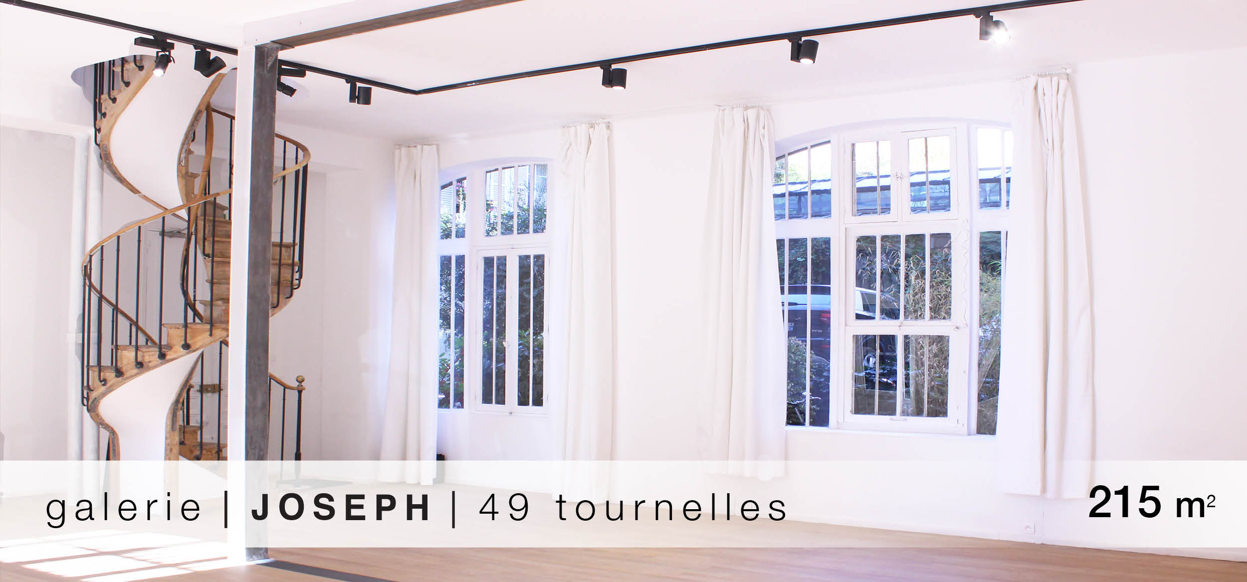 Galerie Joseph Turenelles location showroom Turnenelles