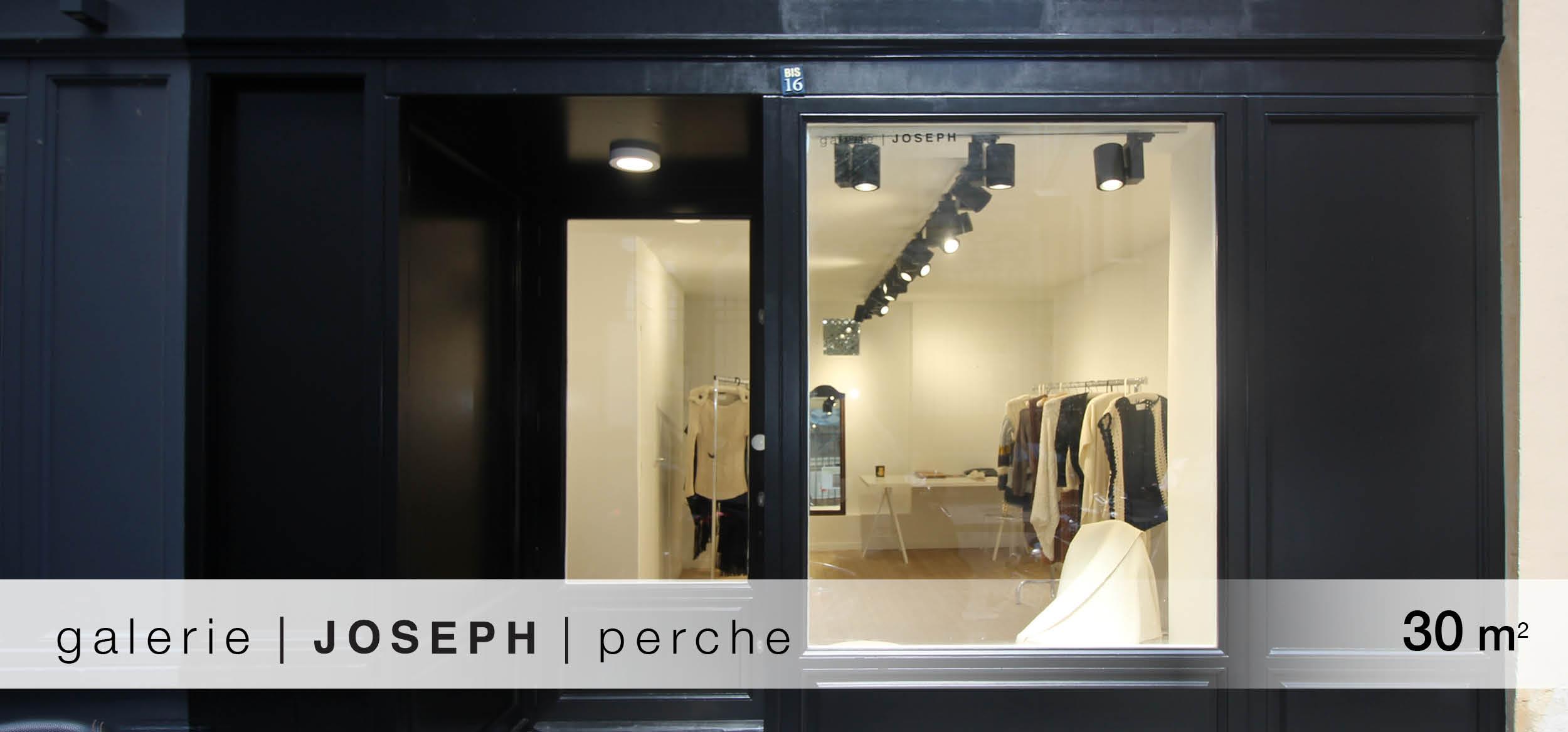 Galerie Joseph Perche location showroom Perche