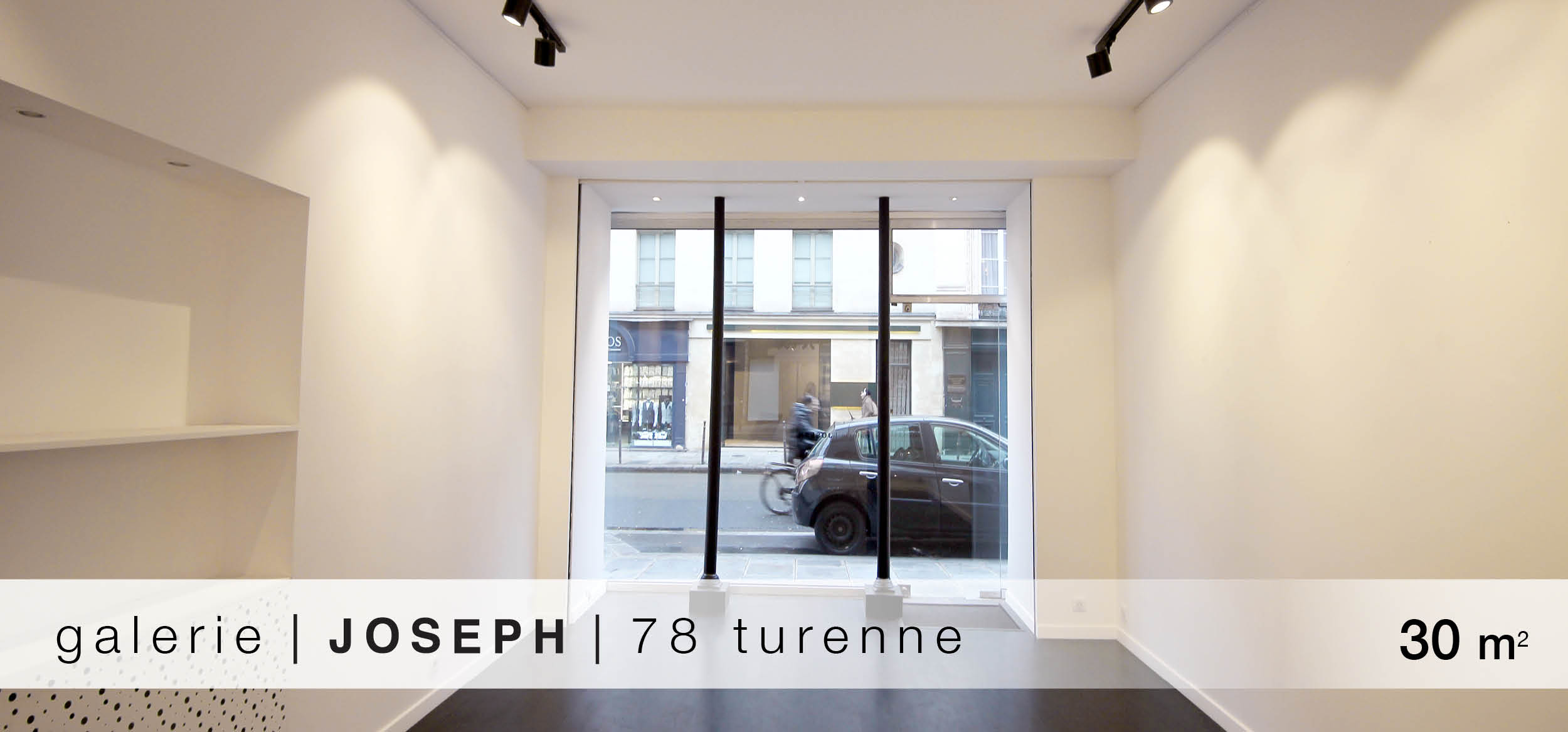 Galerie Joseph Turenne location showroom Turnenne