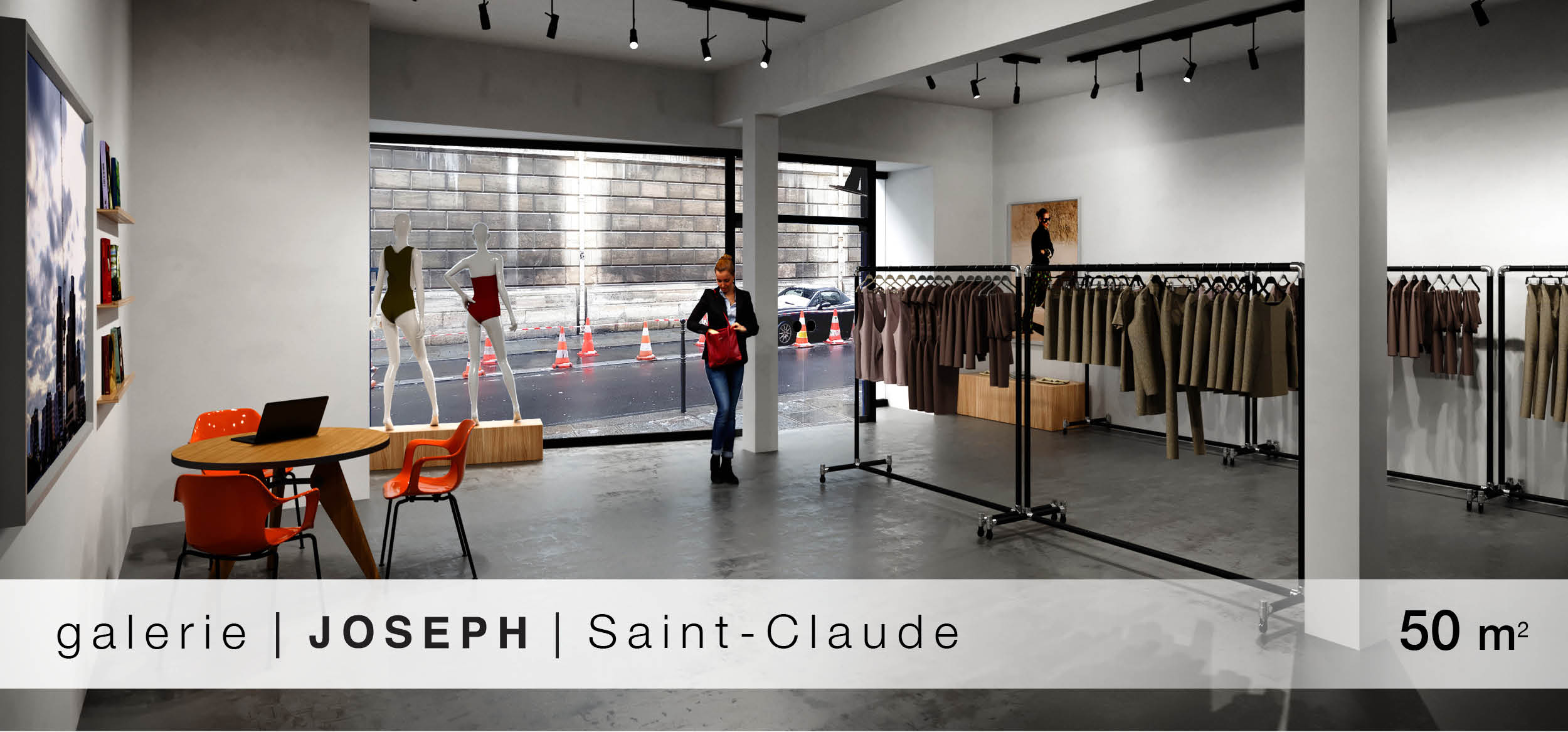 galerie Joseph Shawroom Saint-Claude location showroom Saint-Claude