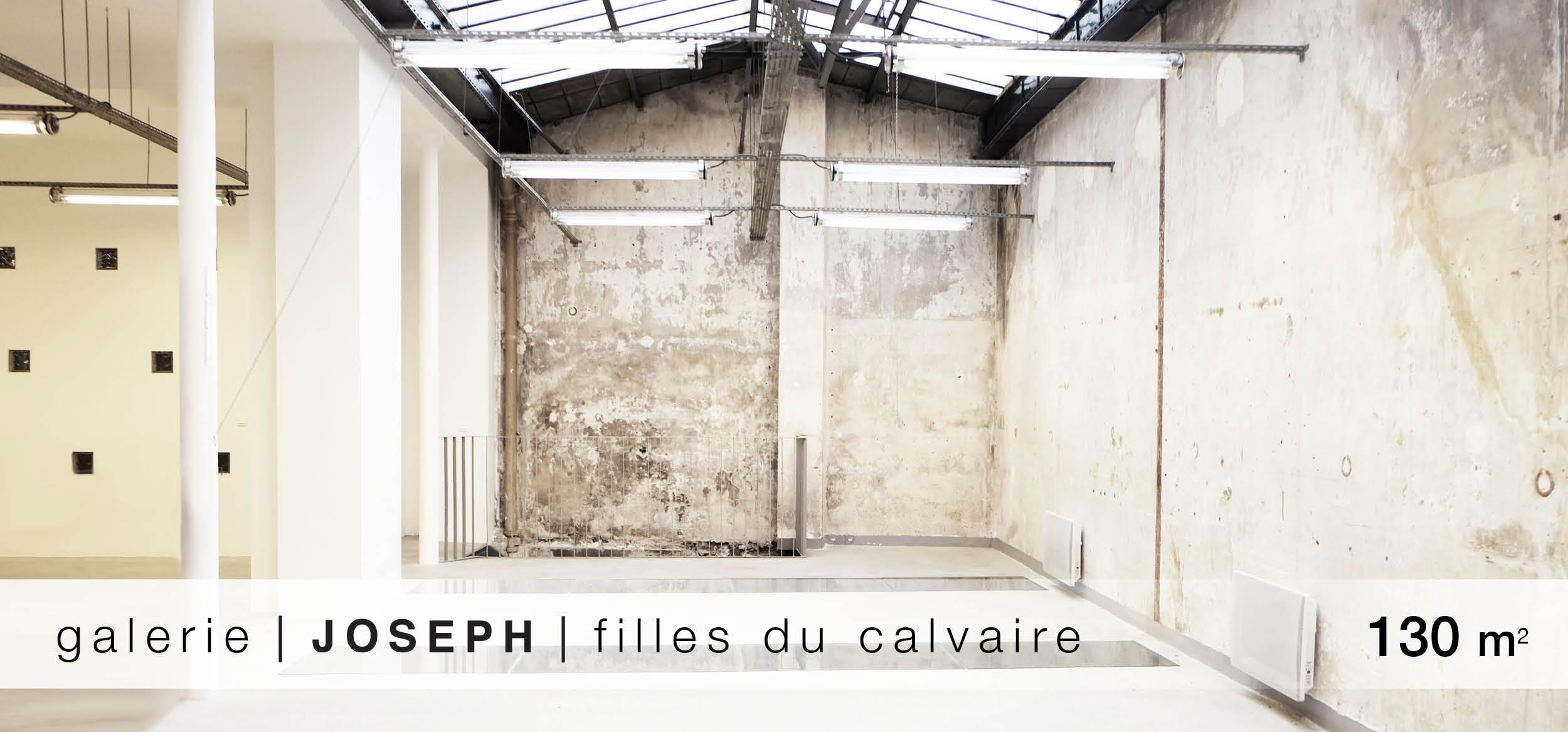 Galerie Joseph Filles du Calvaire location showroom Filles du Calvaire