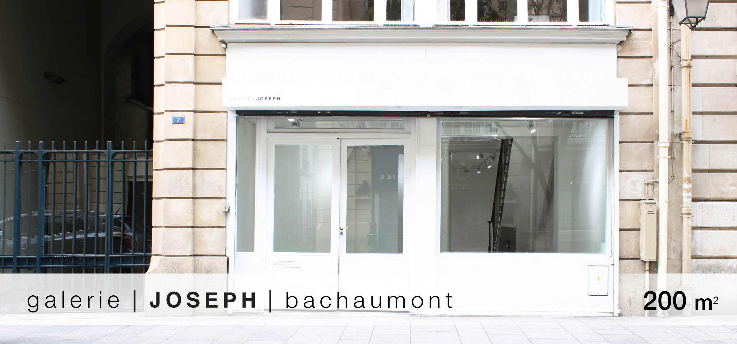 Galerie Joseph Bachaumont location showroom Bachaumont
