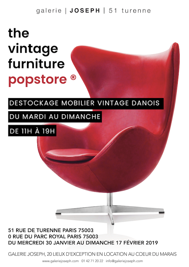 Destockage Mobilier Vintage Danois