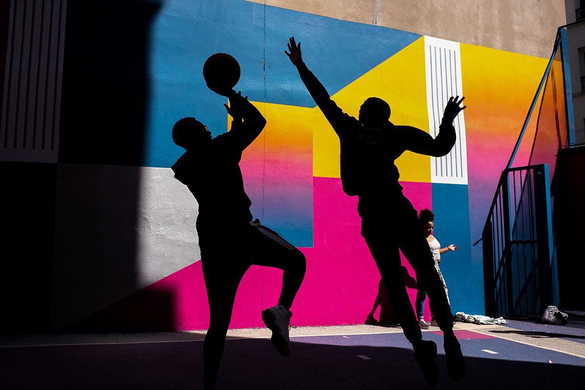 Basket players