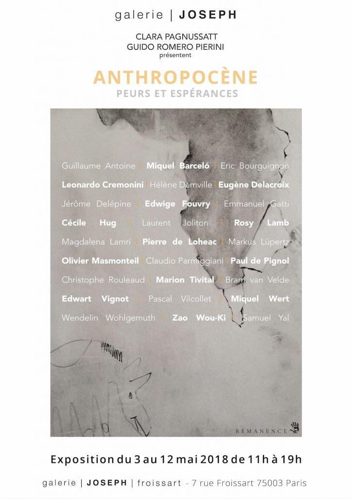 Anthropocène – Pleurs et Espérances