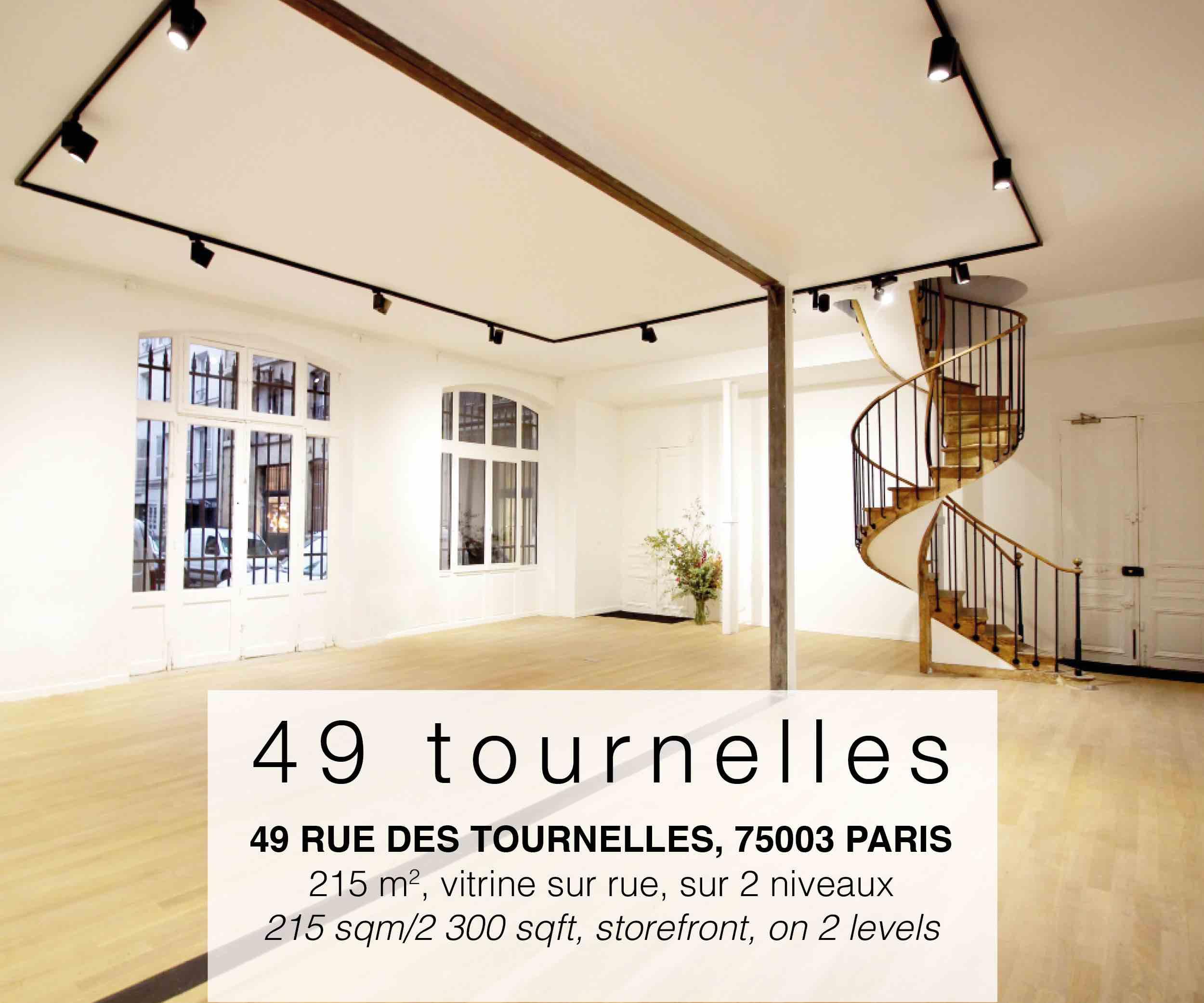 espace unique à louer à Paris