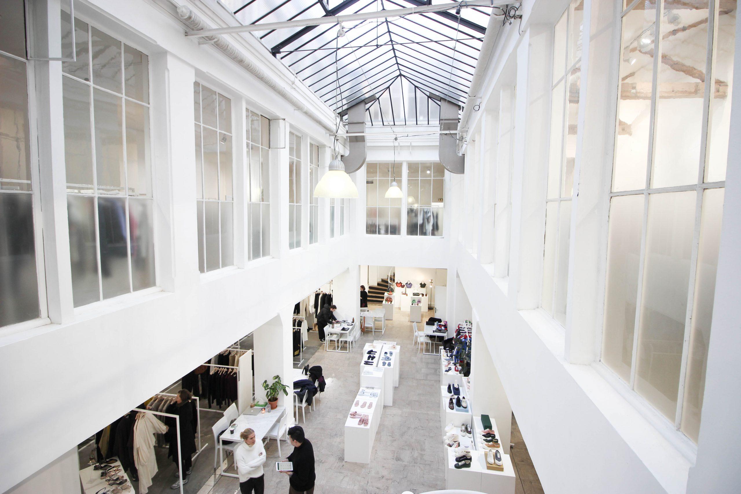 showrooms fashion week Paris marais