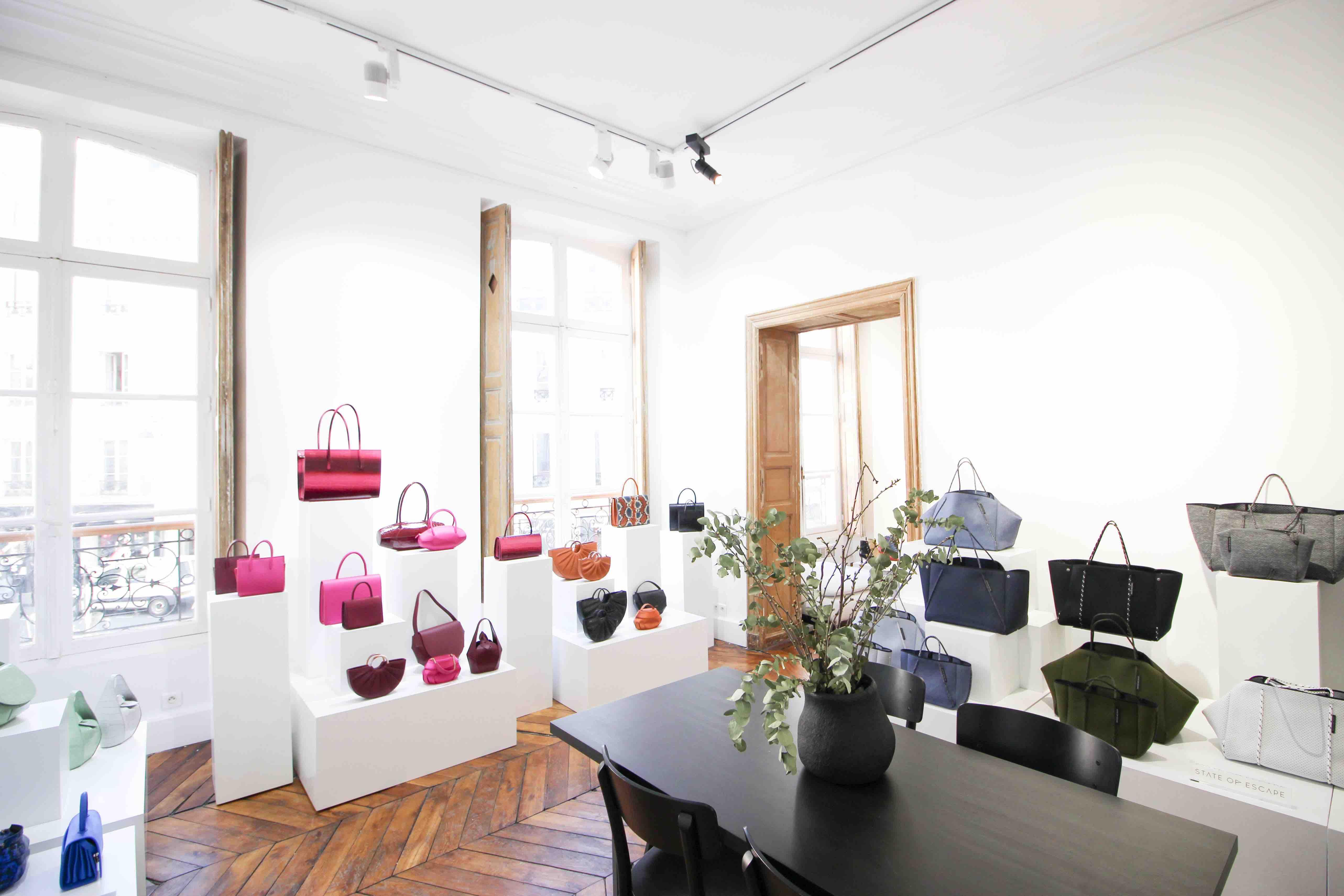 2020 Paris fashion week showroom