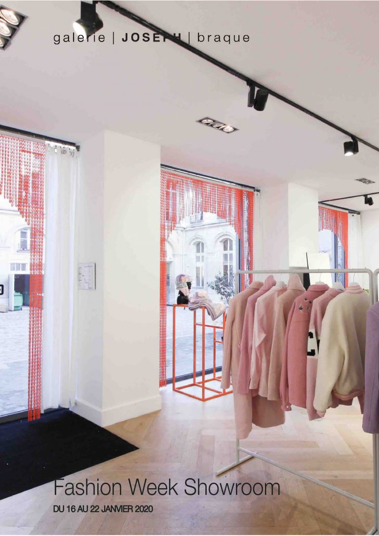 Paris fashion week femme showroom paris marais 2020 galerie joseph