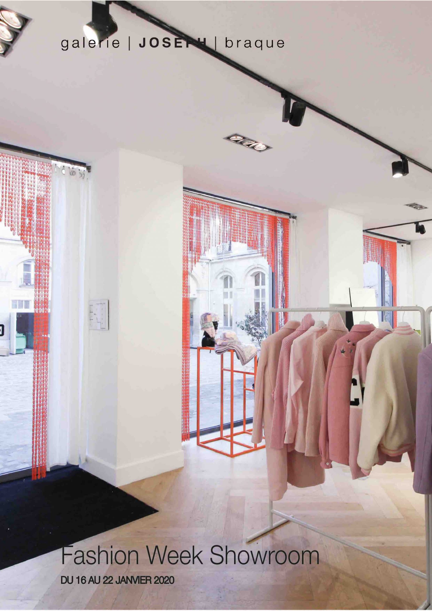 Paris fashion week femme showroom paris marais 2020 galerie joseph