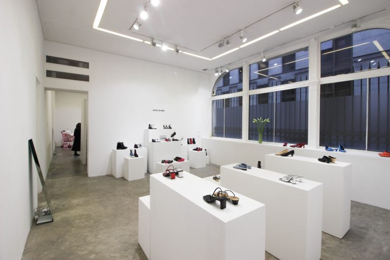 fashion week showroom Paris marais