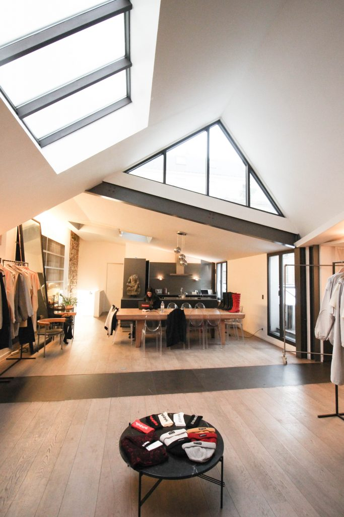 paris fashion week loft tournelles galerie joseph for rent