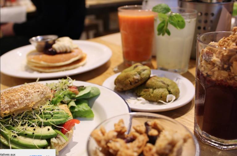 restaurants vegetariens paris vegan marais galerie joseph