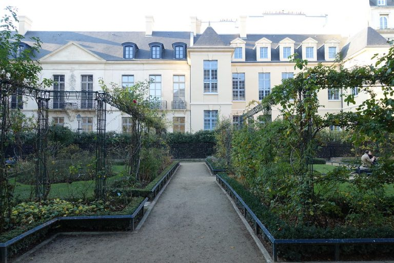 jardin marais paris galerie joseph showroom louer