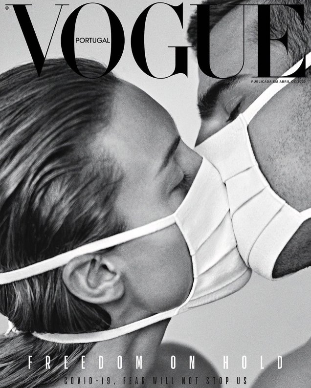 Vogue portugal COVER, le luxe contre le coronavirus