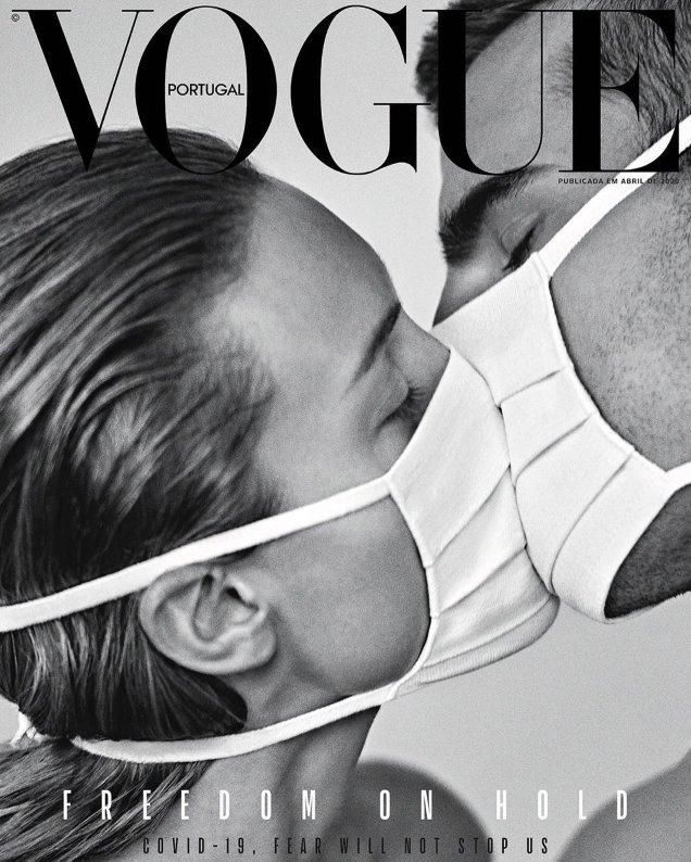 Vogue portugal Coronavirus for freedom