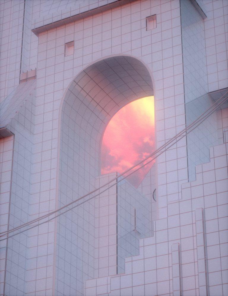 Tokyo Architecture by Quentin Deronzier