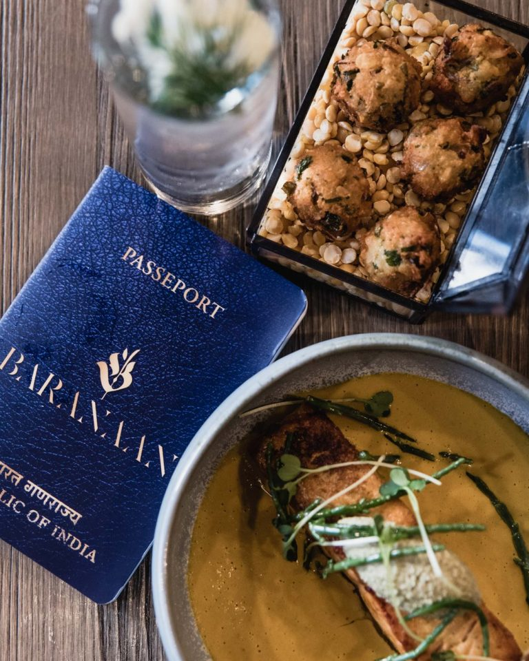 Baranaan restaurant bar indien